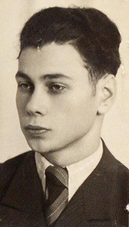 Portrait von Josef Abrahams