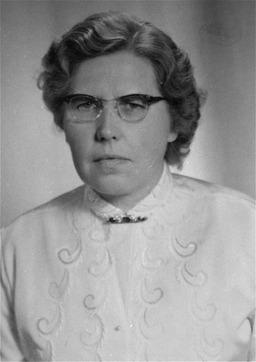 Portrait von Annemarie Kusserow. United States Holocaust Memorial Museum, freundlicherweise zur Verfügung gestellt von Waltraud und Annemarie Kusserow