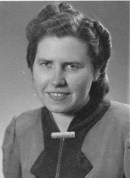 Portrait von Annemarie Kusserow. Jehovas Zeugen, Archiv Zentraleuropa