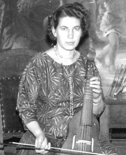 Hildegard Kusserow, 1959. Freundlicherweise zur Verfügung gestellt von Annegret Kusserow