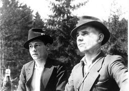Wilhelm und Wolfgang Kusserow. Freundlicherweise zur Verfügung gestellt von Annegret Kusserow