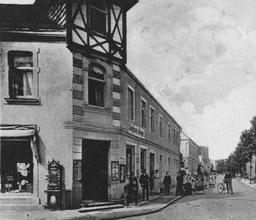 Das Wohnhaus Lange Straße 16 um 1911